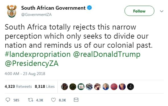 donald trump kkk apartheid sud africa - 2