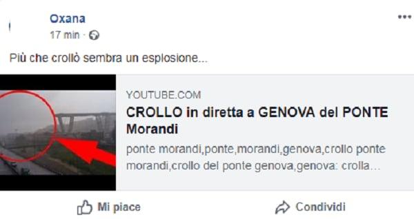 esplosione crollo ponte morandi genova 3