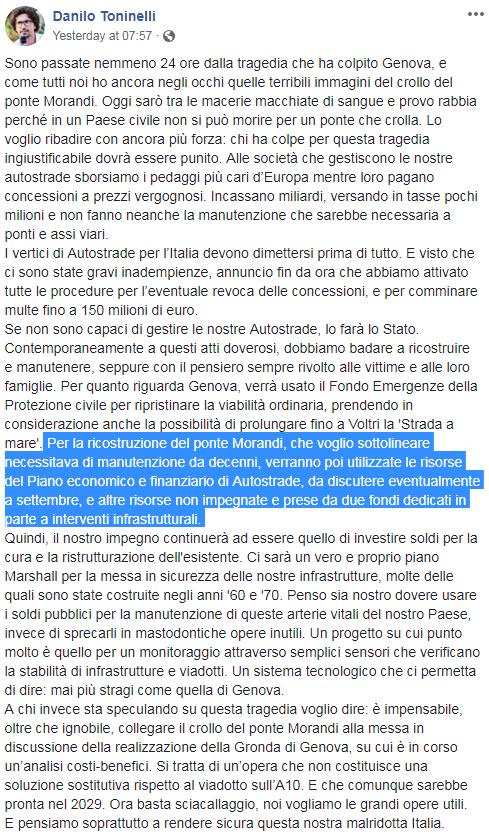 governo atlantia genova ponte morandi - 3