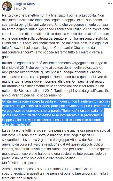 governo conte salvini di maio toninelli genova ponte morandi - 7