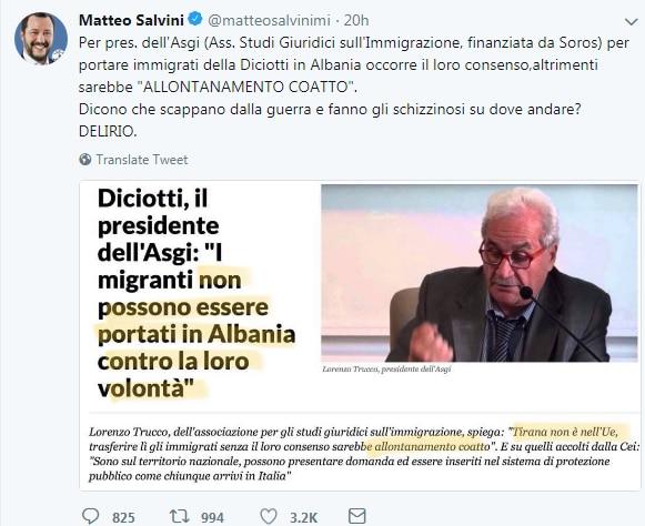 orban salvini soros migranti - 2
