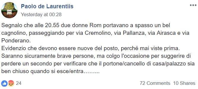paolo de laurentiis m5s rom