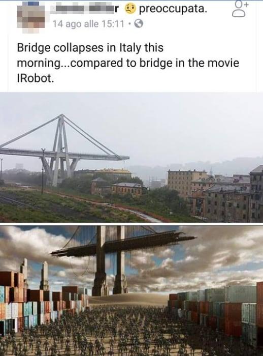 ponte morandi demolizione controllata - 4