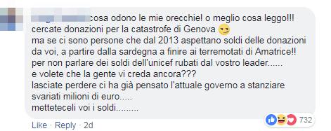 raccolta fondi pd genova amatrice complotto - 8