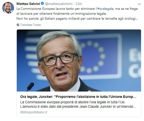 salvini ora legale abolizione UE - 1