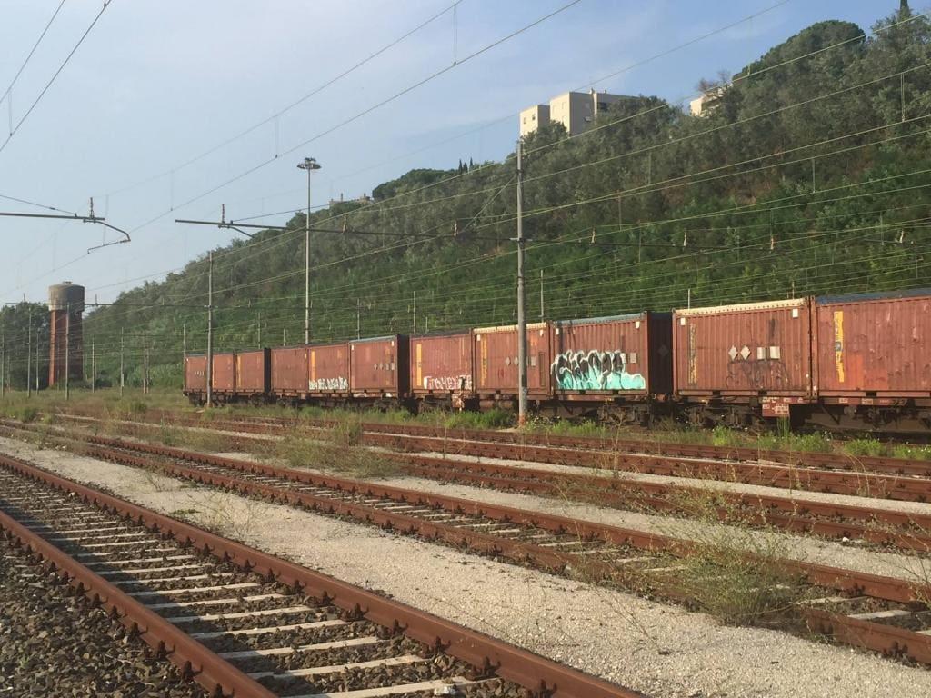 treno monnezza roma smistamento
