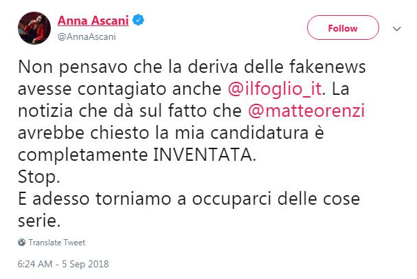 anna ascani segreteria pd renzi il foglio - 1