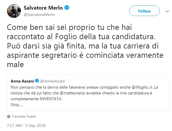 anna ascani segreteria pd renzi il foglio - 2