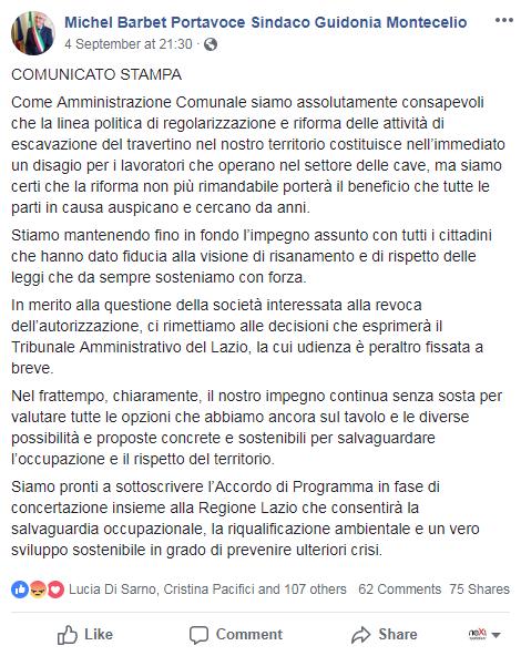barbet guidonia montecelio cave travertino - 1