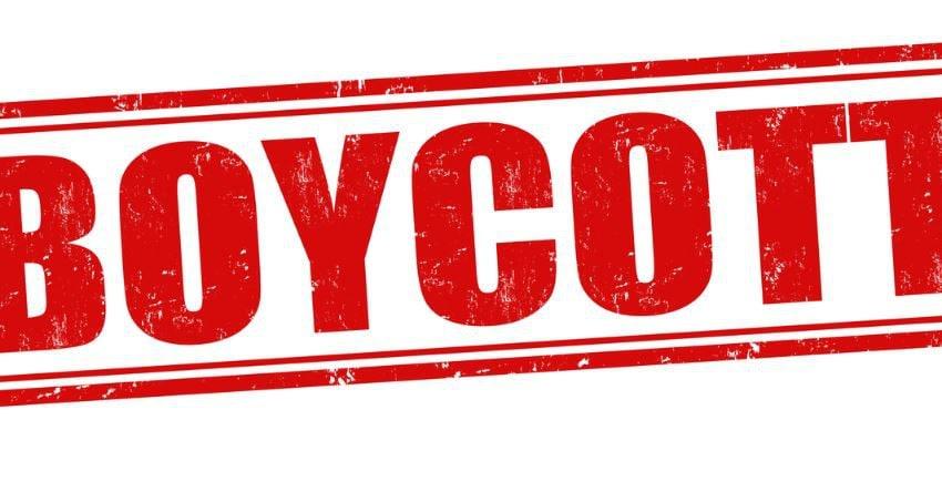 boicottare media