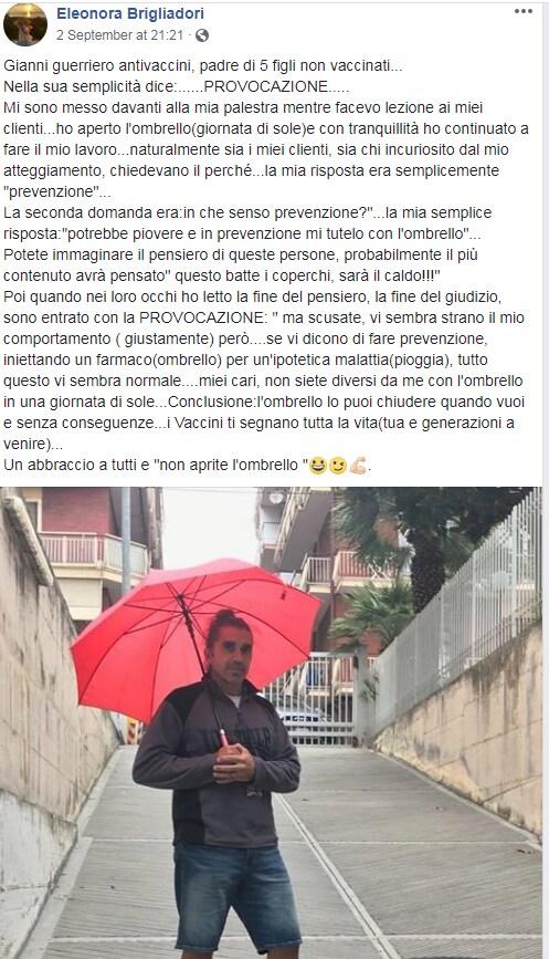 brigliadori vaccini ombrello - 1