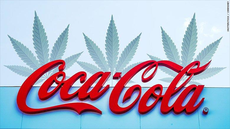 coca cola cannabis 1