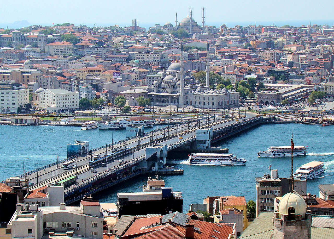 Il ponte di Galata a Istanbul via