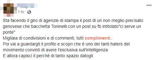 decreto genova toninelli proteste - 7