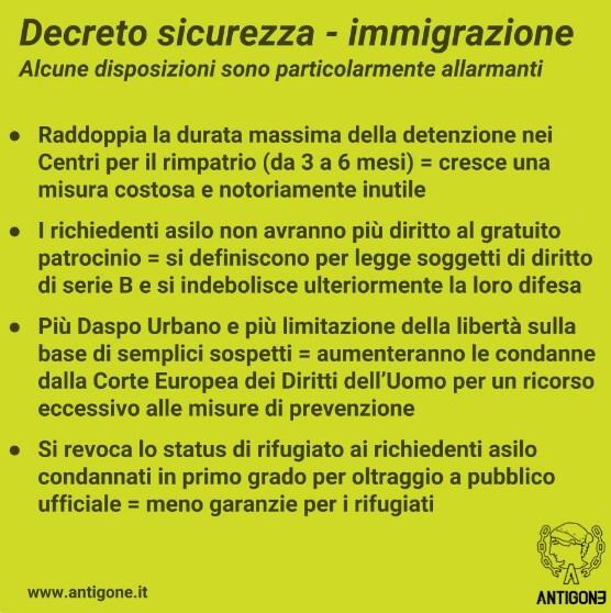 decreto sicurezza salvini - 3