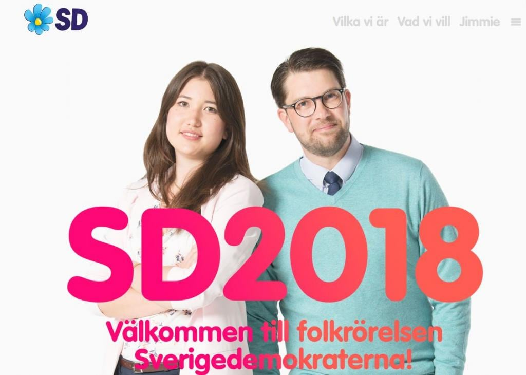 democratici svedesi elezioni svezia 1