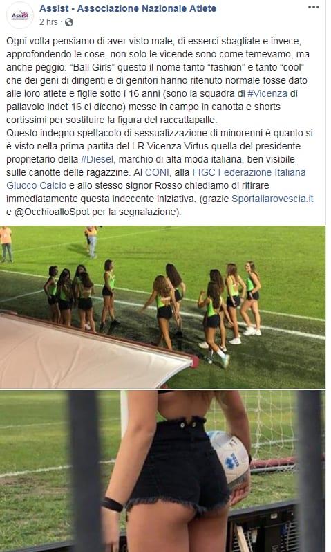 Calci Nelle Balle Gay A Vicenza