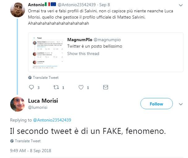 luca morisi matteo salvini fake twitter - 1