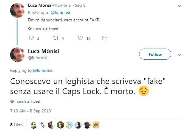 luca morisi matteo salvini fake twitter - 2