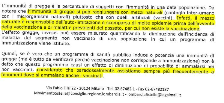Calendario Vaccinazioni Lombardia.Come Il M5s Lombardia Continua A Diffondere La Cultura Del