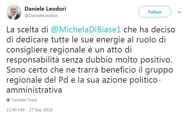 michela di biase leodiri giachetti dimissioni - 1