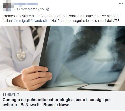 polmonite brescia immigrati complotto - 7
