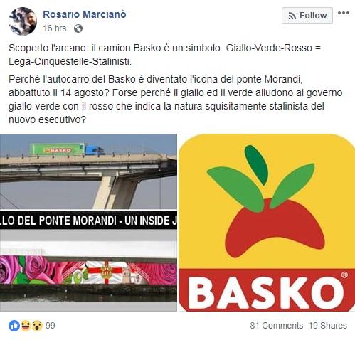 rosario marcianò ponte morandi genova basko stalin - 1