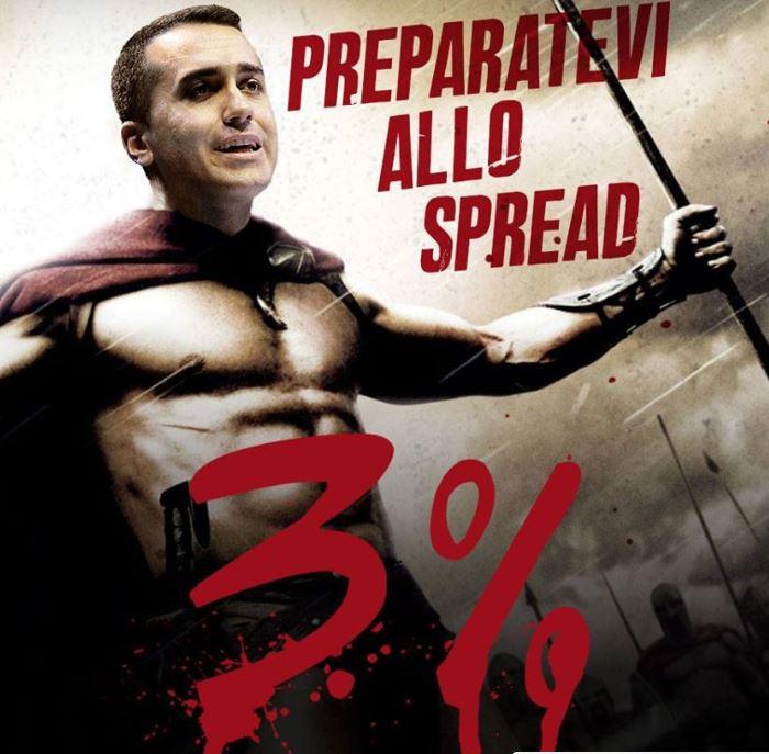 spread 3 per cento