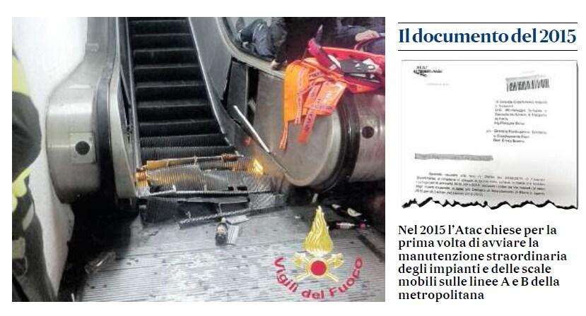 atac manutenzione comune roma scala mobile repubblica - 1