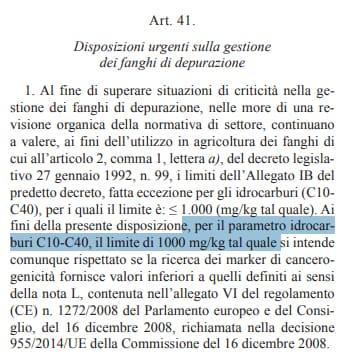 decreto genova fanghi idrocarburi toninelli - 4