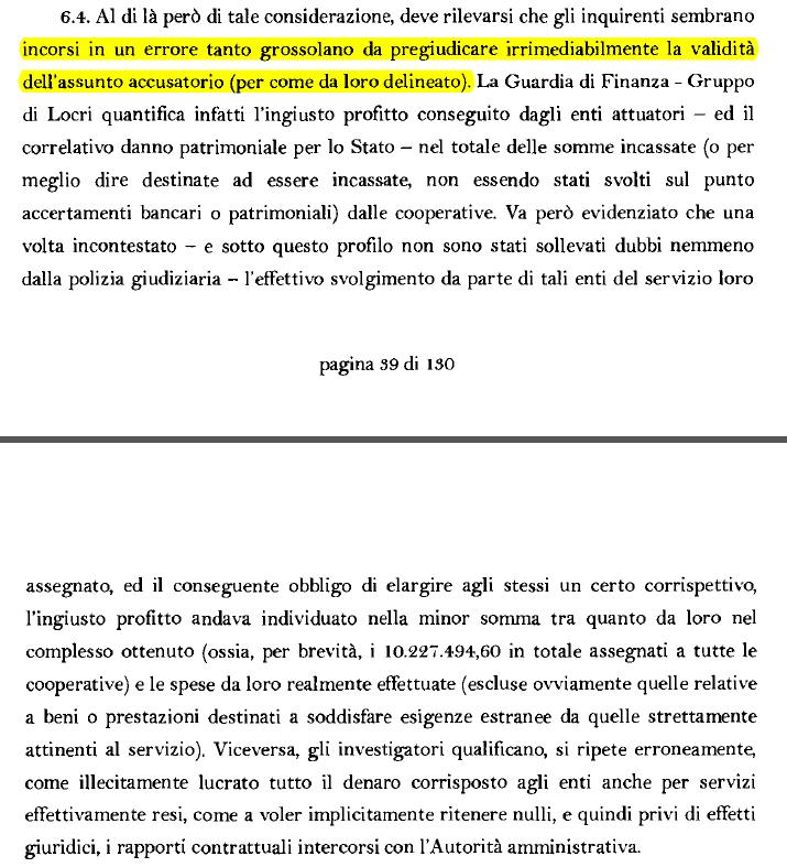 domenico lucano arresto errori ordinanza gip - 4