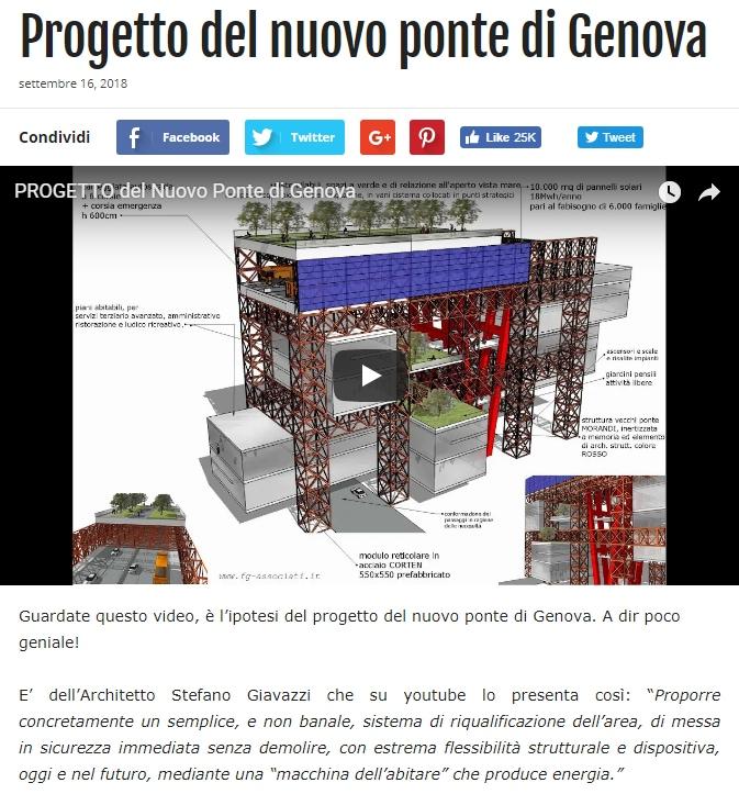grillo ponte morandi genova - 1