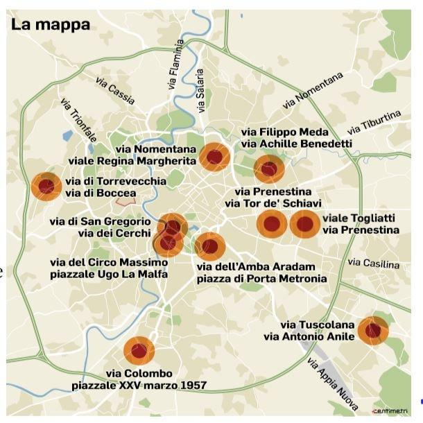 incroci pericolosi roma