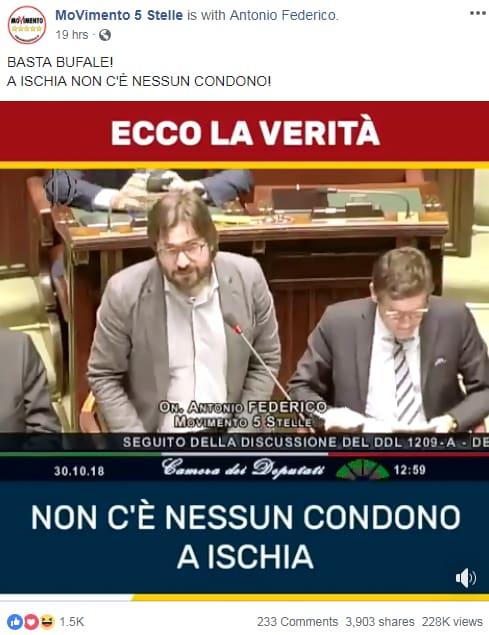 m5s decreto genova condono ischia - 2