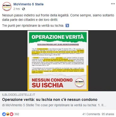 m5s decreto genova condono ischia - 3