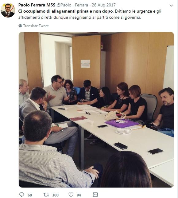 paolo ferrara m5s ascate metro roma - 1