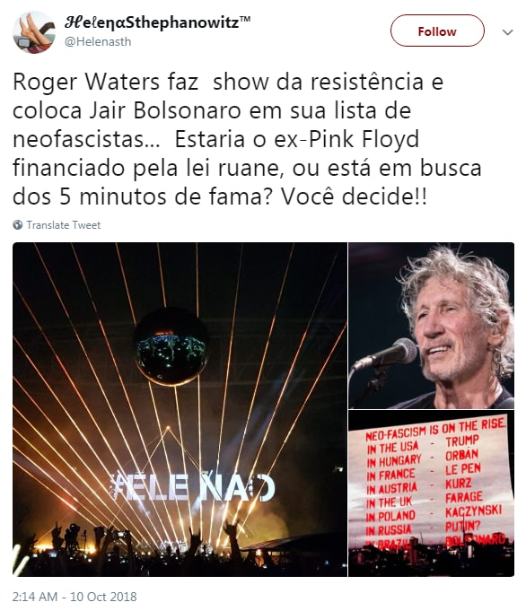 roger waters bolsonaro neofascista - 9