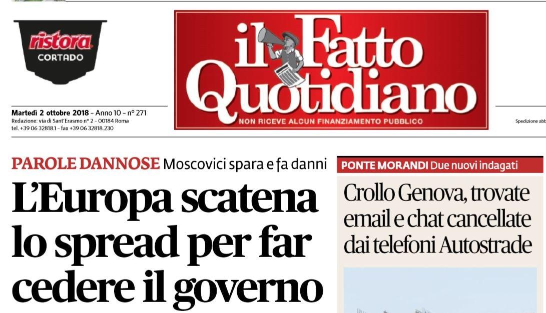 spread governo