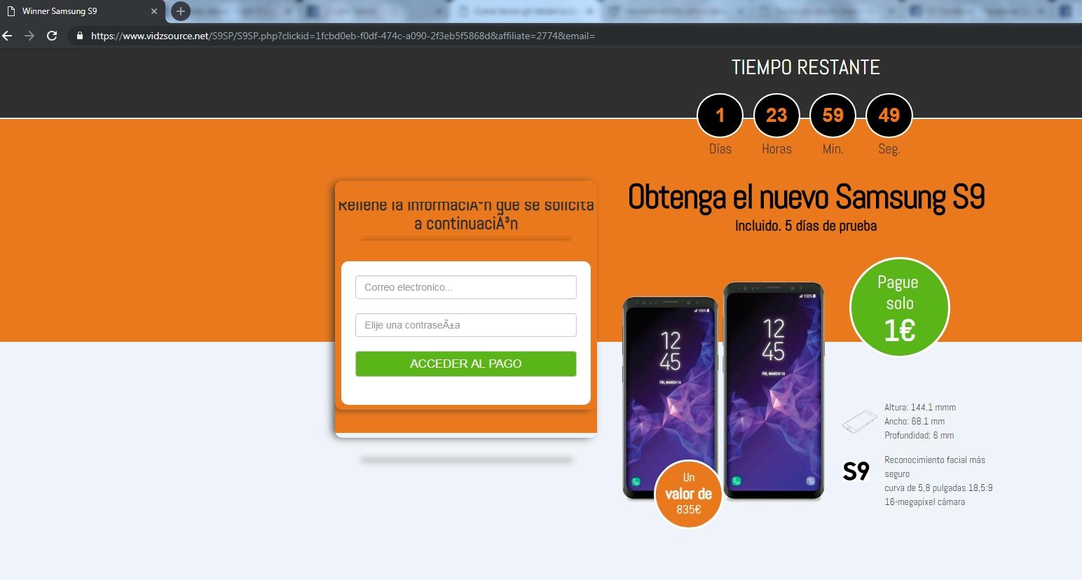 AXS256RTR iphone x un euro truffa - 1