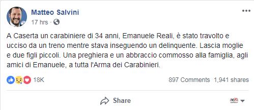 Violeta Senchiu salvini omicidio - 1