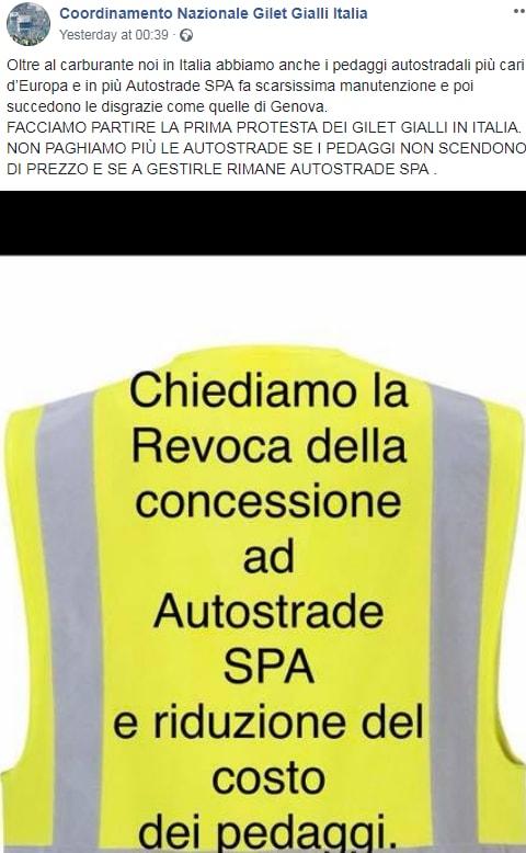 gilet gialli italiani ivan della valle- 6