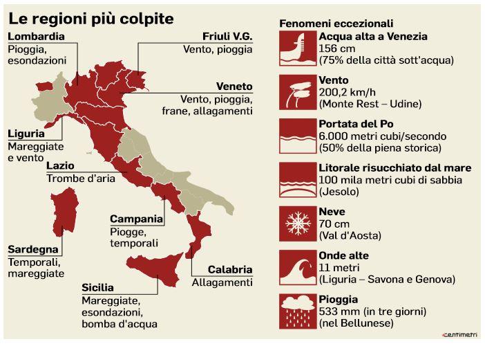 italia rischio idrogeologico