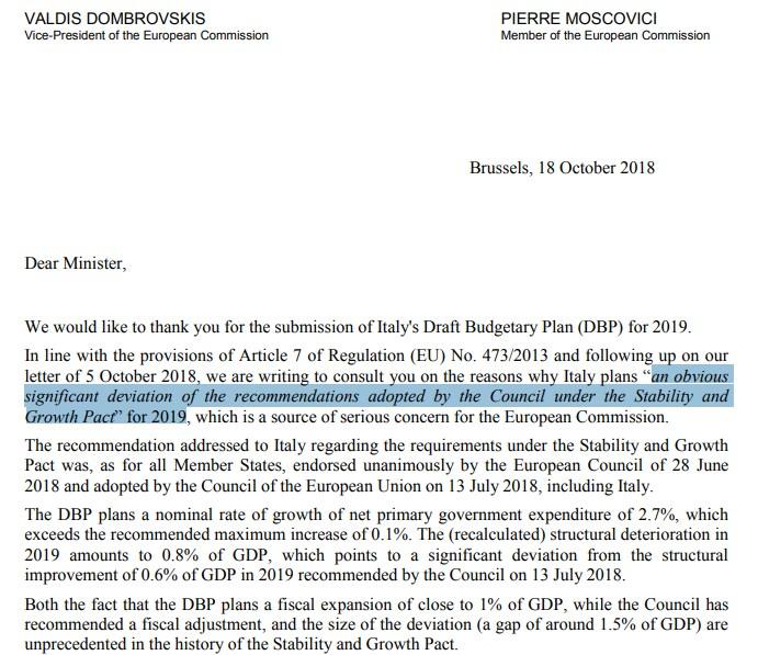 lezzi manovra del popolo procedura deficit commissione ue - 2