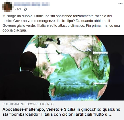 maltempo italia geoingegneria scie chimiche - 6