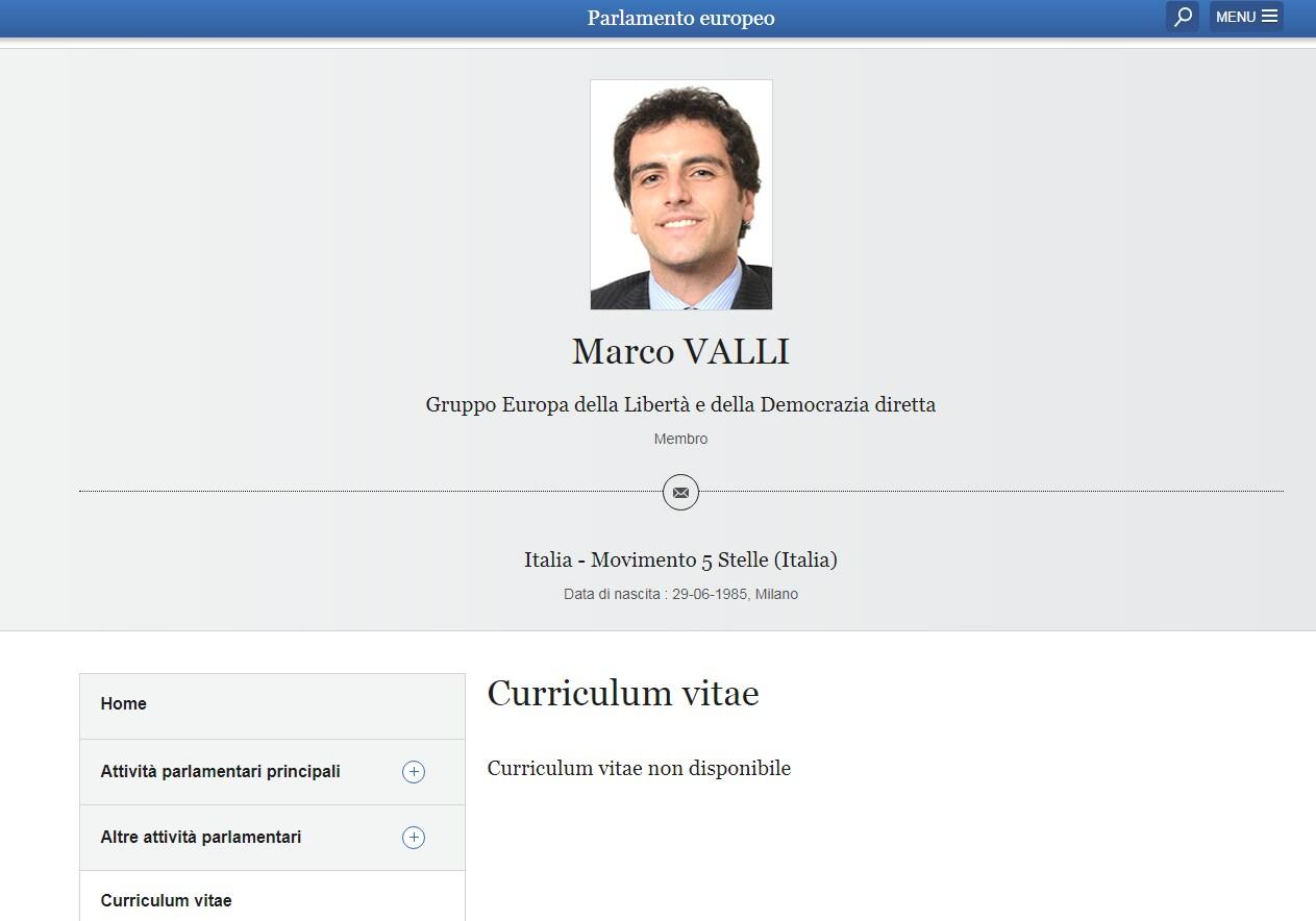 marco valli curriculum laurea bocconi - 1