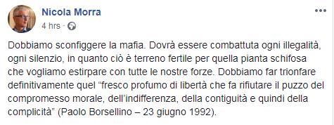 nicola morra commissione antimafia - 2