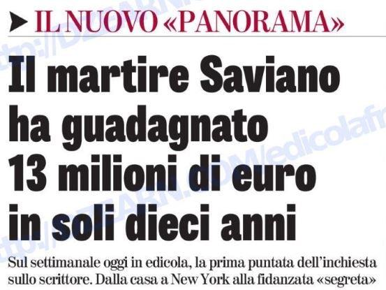 Svelata la fidanzata di Saviano: è Meg, ex dei 99 Posse
