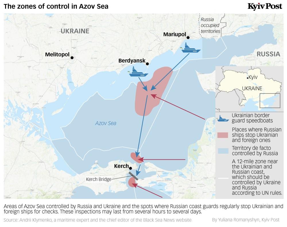 Perché Mosca e Kiev si contendono il mare meno profondo del mondo