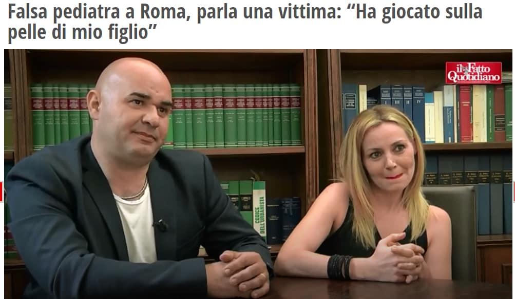 simona salvatori falsa oncologa pediatra roma - 1