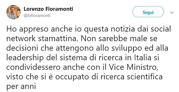 viceministro fioramonti